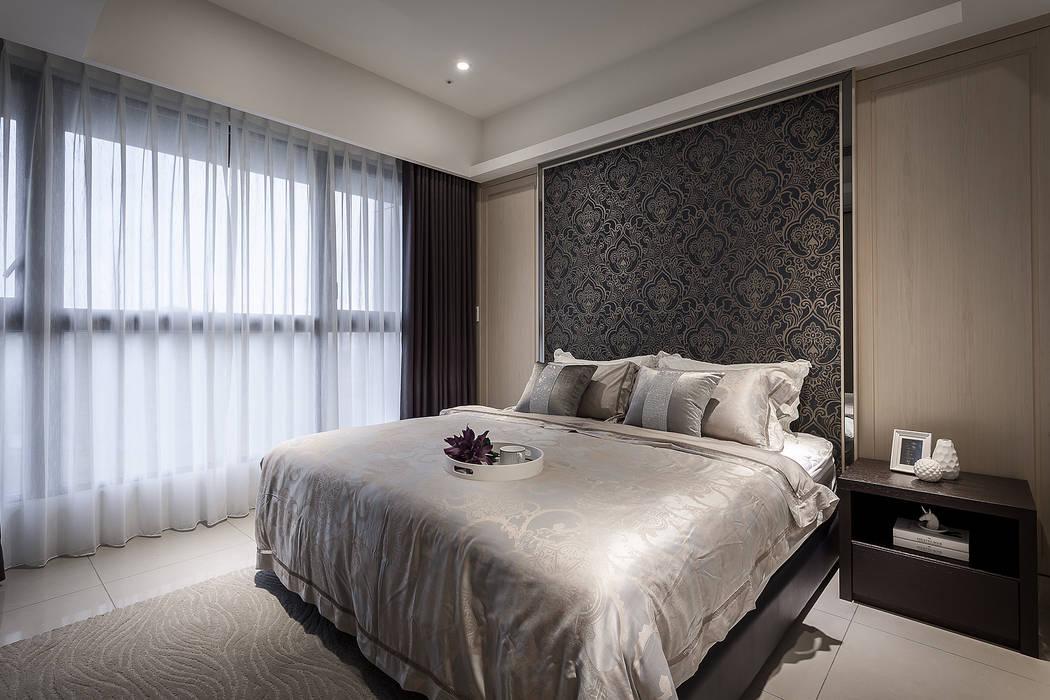活動門板:  臥室 by 你你空間設計