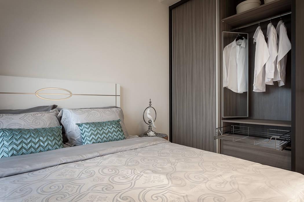 長輩房:  臥室 by 你你空間設計