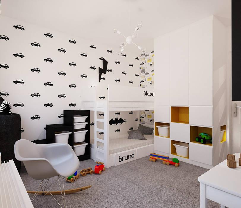 北欧デザインの 子供部屋 の Ale design Grzegorz Grzywacz 北欧