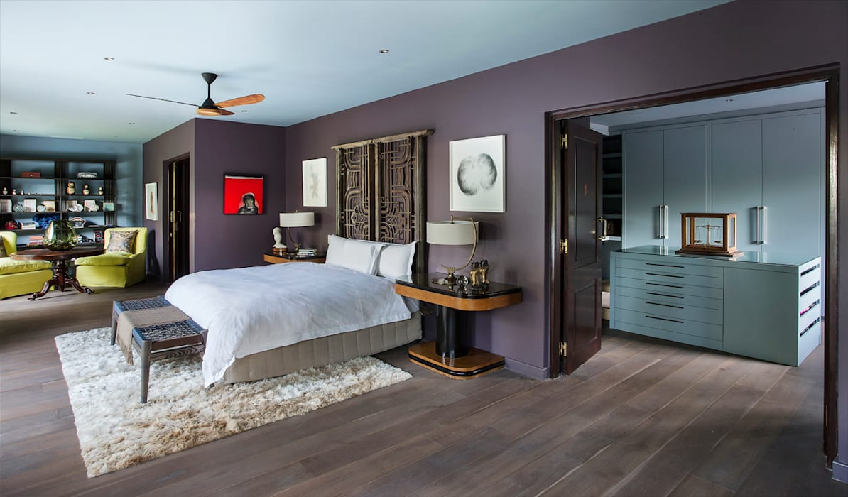 Master Bedroom Suite by homify Eclectic Copper/Bronze/Brass