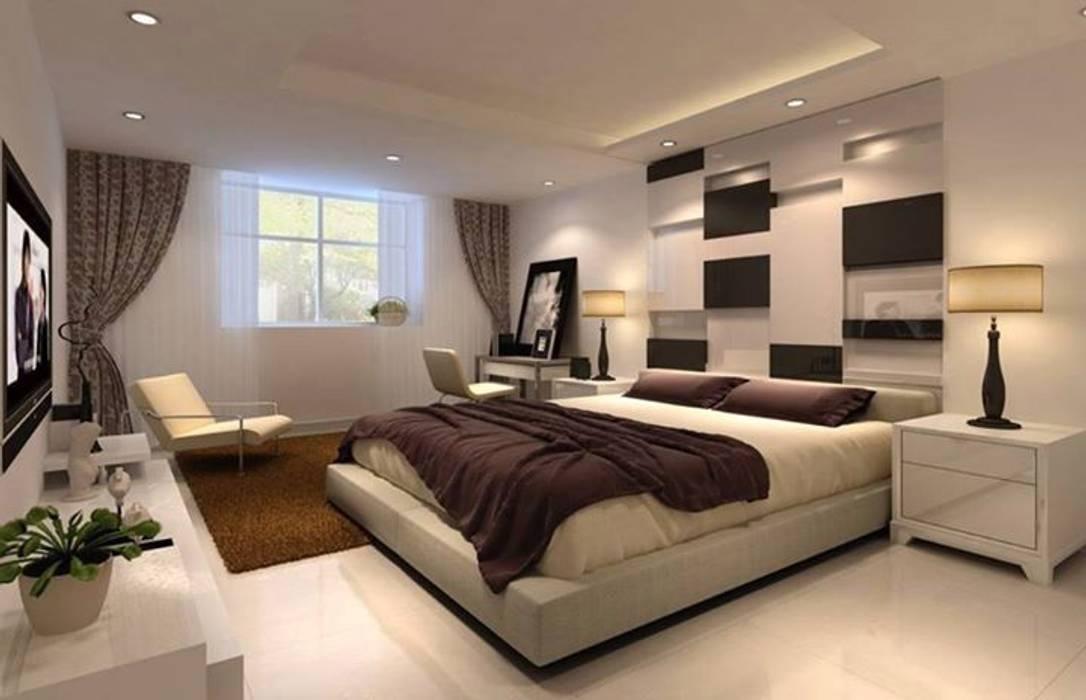 Modern style bedroom by القصر للدهانات والديكور Modern
