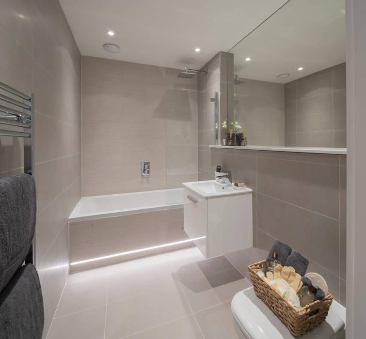 Station Rd, New Barnet: modern Bathroom by Jigsaw Interior Architecture