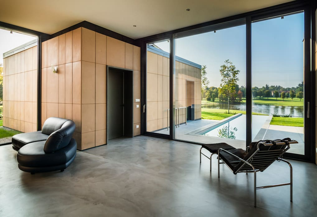 Interno casa patio soggiorno soggiorno in stile in stile for Interno di una casa
