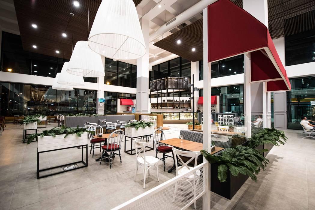 Restaurantes de estilo  por oğuzhan aydoğdu iç mimarlık, Moderno