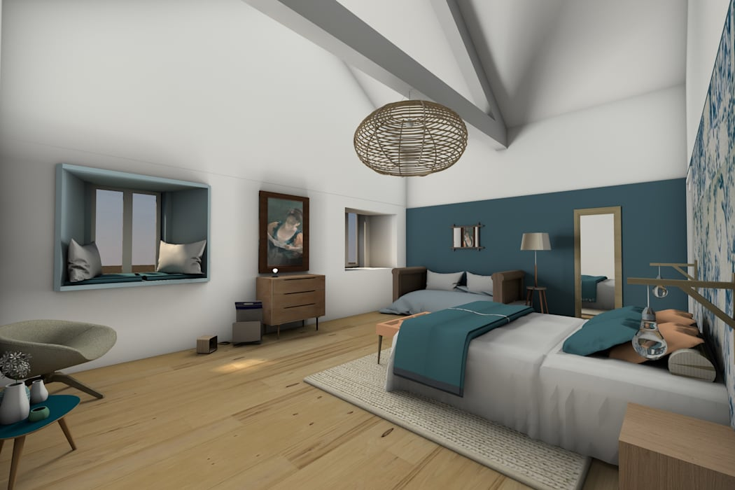 Chambre 2: Chambre de style de style Classique par Dem Design