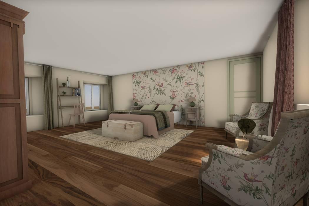 Chambre 3: Chambre de style de style Classique par Dem Design
