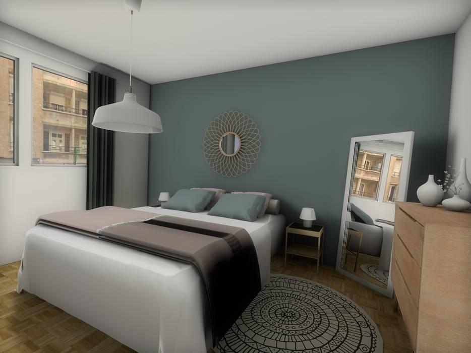 Chambre: Chambre de style de style Moderne par Dem Design
