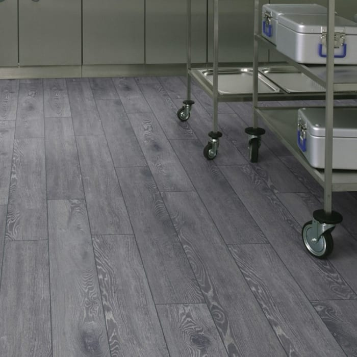 Pavimento laminato 8 mm. rovere grigio vintage ac5 made in germany ...