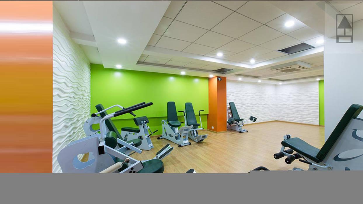 VIVA FIT:  Gym by ABHISHEK DANI DESIGN,Modern