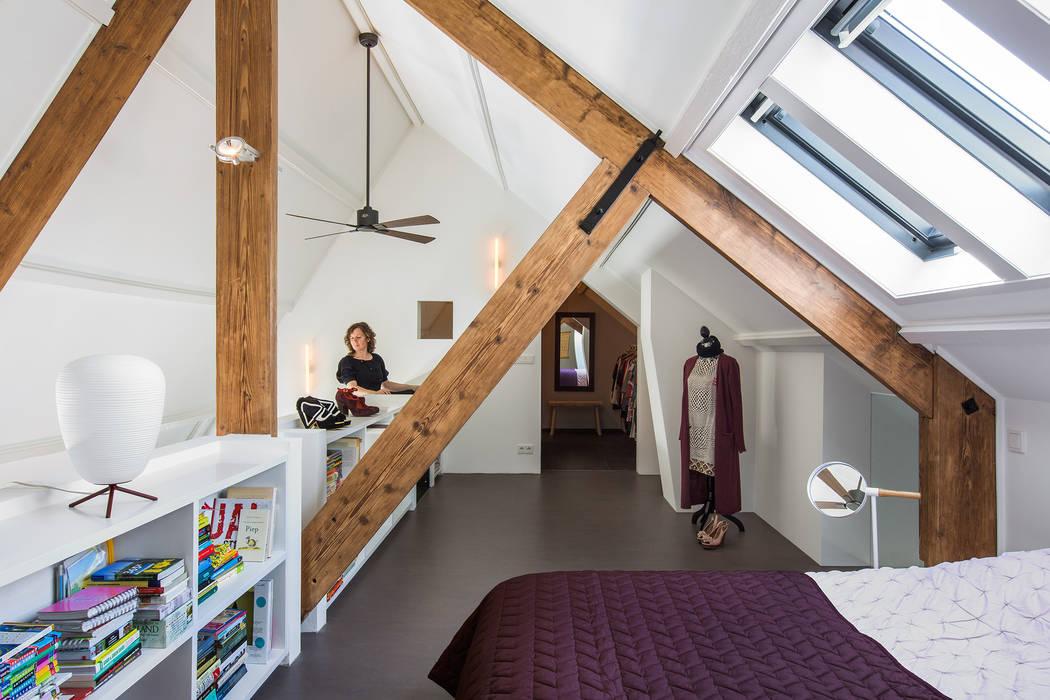 Sigrid van Kleef & René van der Leest - Studio Ruim Modern style bedroom