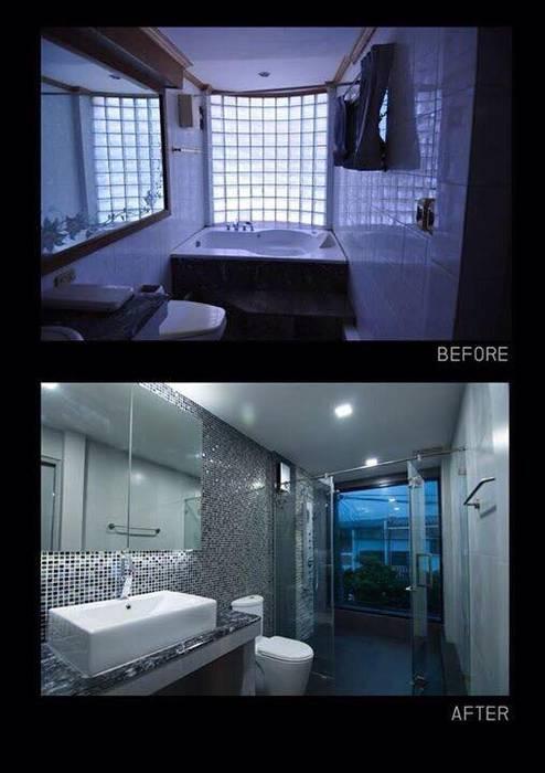 Renovate บ้านเดี่ยว 3 ชั้น โดย สายรุ้งรีโนเวท