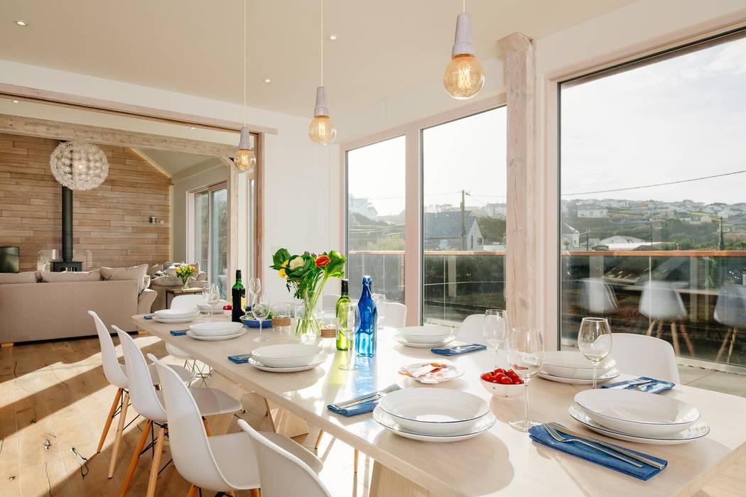 Treasure House, Polzeath | Cornwall Perfect Stays Rustic style dining room