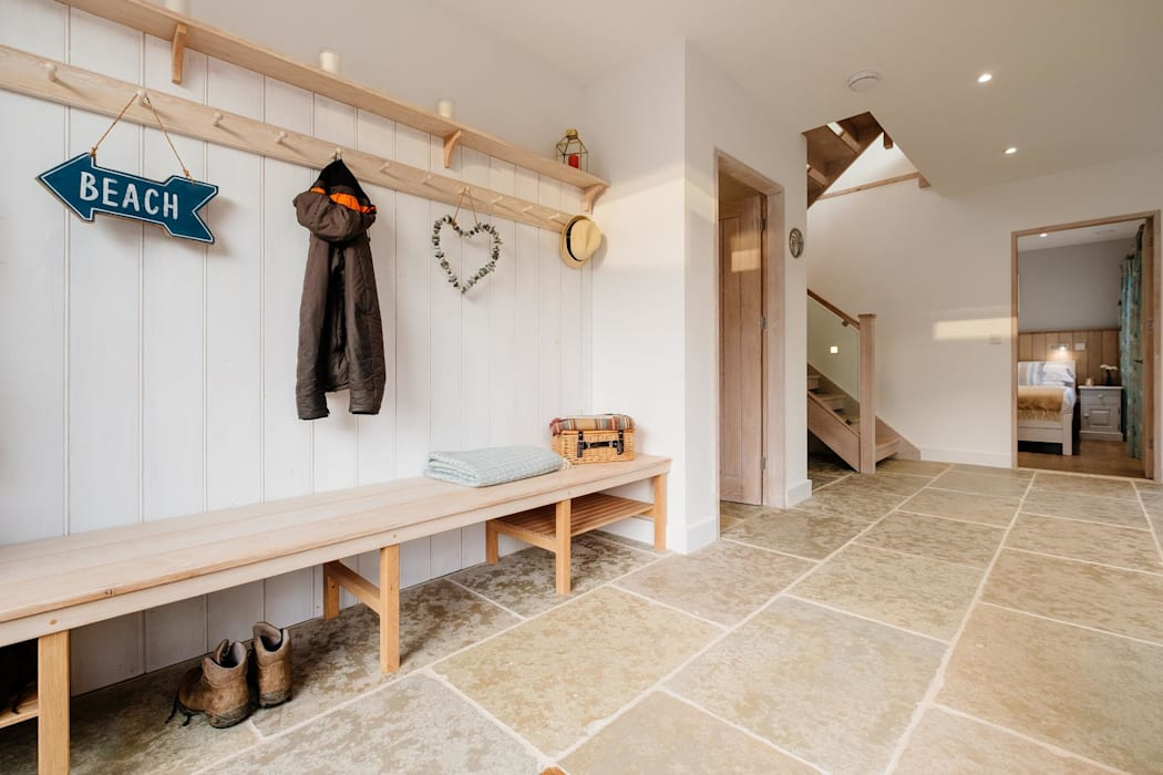 Treasure House, Polzeath | Cornwall Perfect Stays Rustic style corridor, hallway & stairs