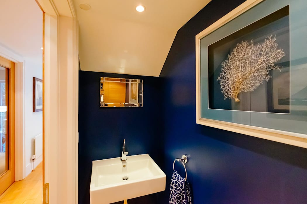 Blue Moorings, Dartmouth | Devon Eclectic style bathroom by Perfect Stays Eclectic