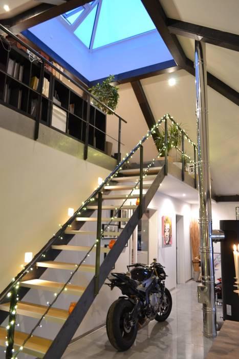 All in one! galerie, atrium und garage, alles in einem haus ...