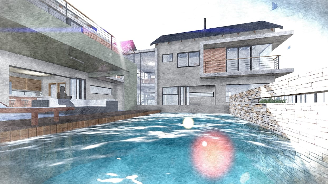 Kraft Architects Nowoczesne domy