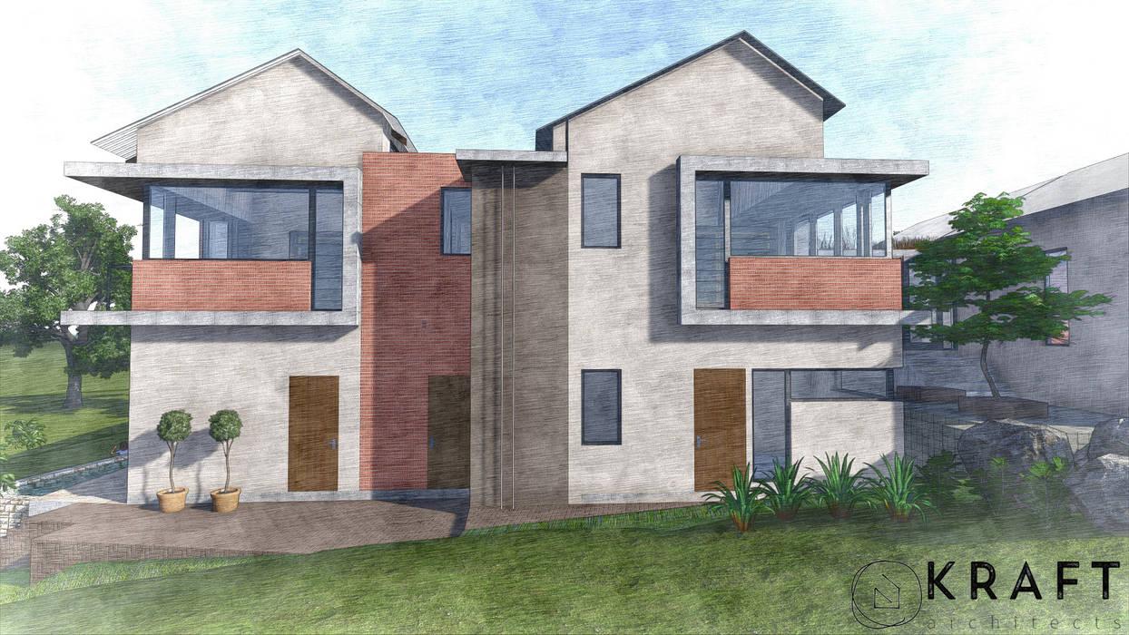モダンな 家 の Kraft Architects モダン