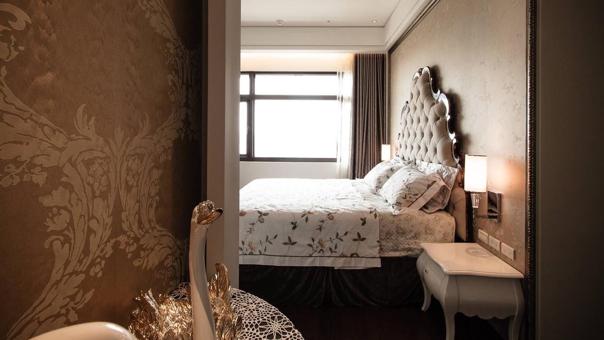 BRAVO INTERIOR DESIGN & DECO KUAN STYLE Modern style bedroom by 璞碩室內裝修設計工程有限公司 Modern