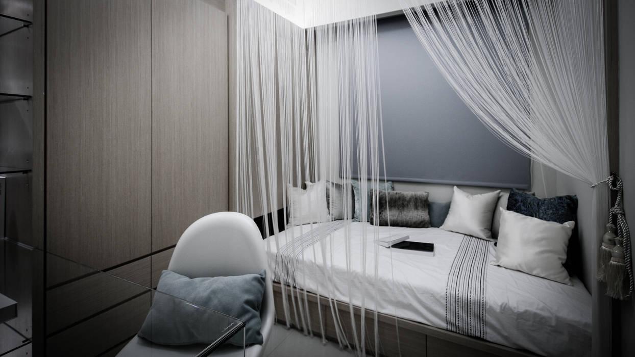 BRAVO INTERIOR DESIGN & DECO    CHIC STYLE:  臥室 by 璞碩室內裝修設計工程有限公司