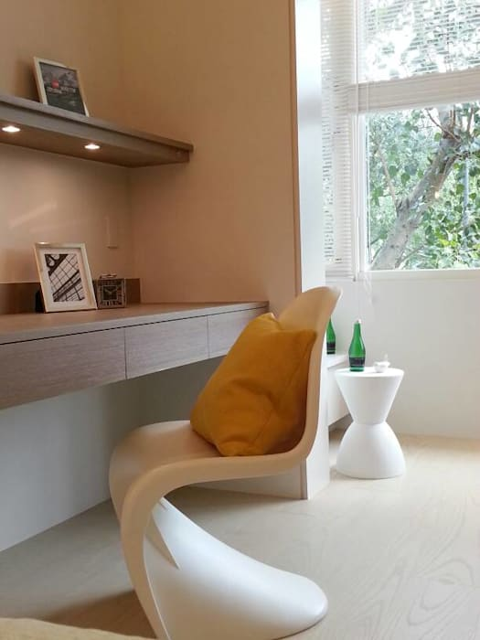 BRAVO INTERIOR DESIGN & DECO    JIA STYLE:  臥室 by 璞碩室內裝修設計工程有限公司