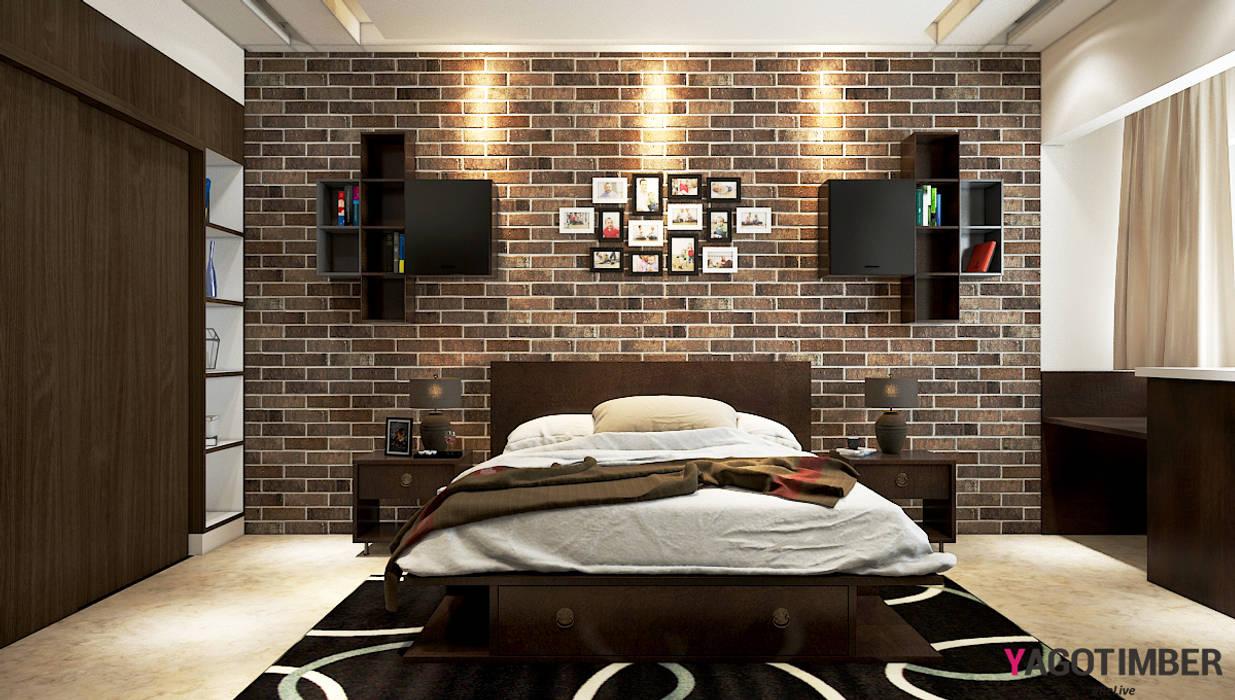 Bedroom Design 2: rustic  by Yagotimber.com,Rustic