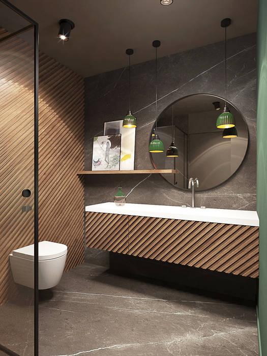 WARSZAWA / MORSKIE OKO - 180M2 Eklektyczna łazienka od razoo-architekci Eklektyczny