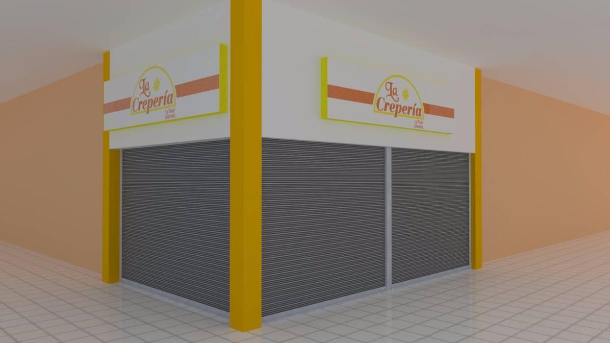 Apunte perspectivo : Centros Comerciales de estilo  por M4X