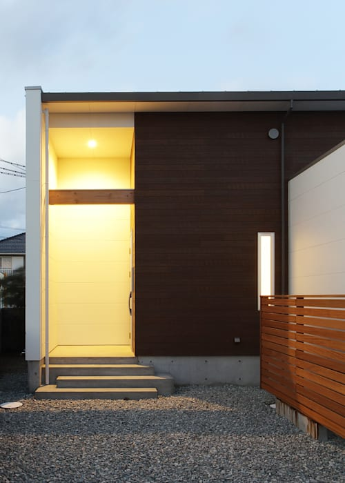 F.Flat+L -共働きのための平屋住宅- 有限会社アルキプラス建築事務所 モダンな 家