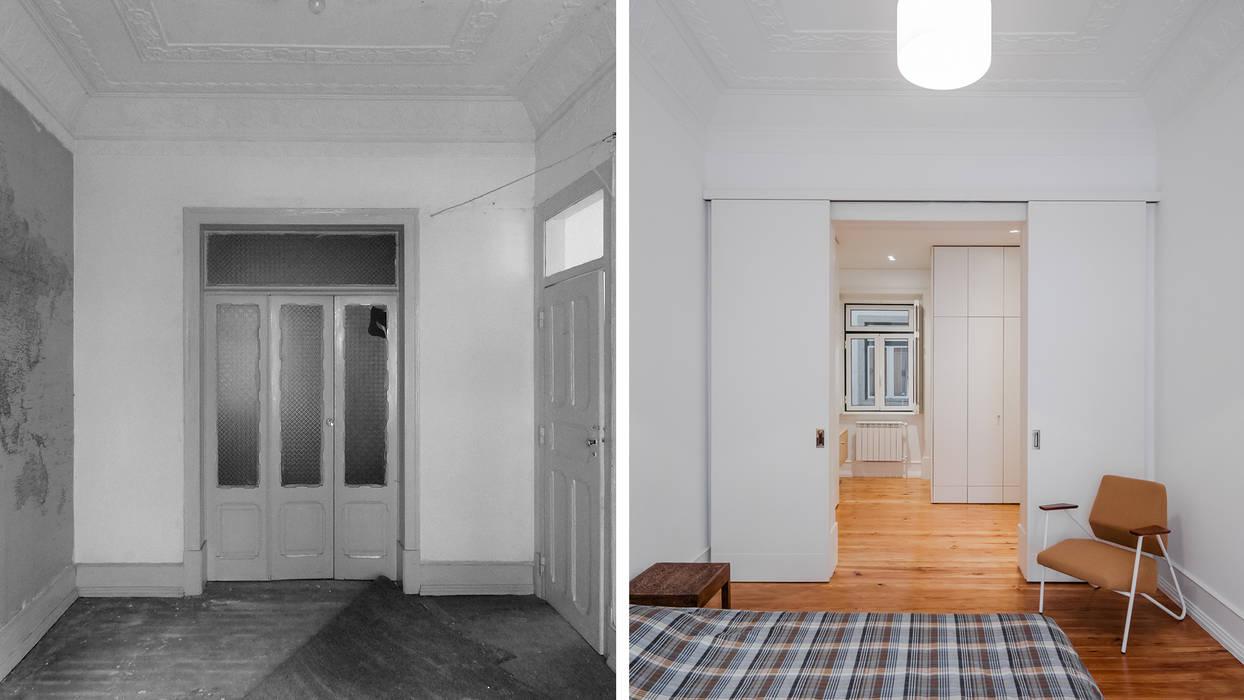 Suite | Master Bedroom:  colonial por FMO ARCHITECTURE,Colonial