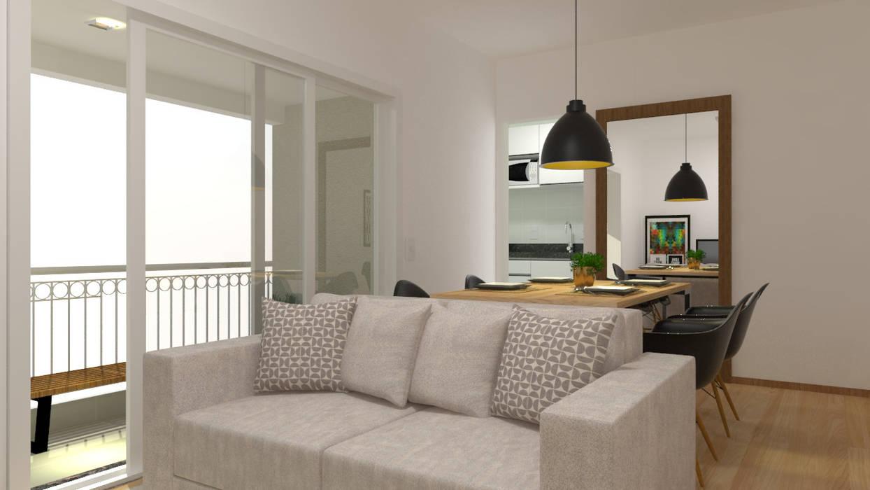 2:1 Arquitetura & Interiores Вітальня