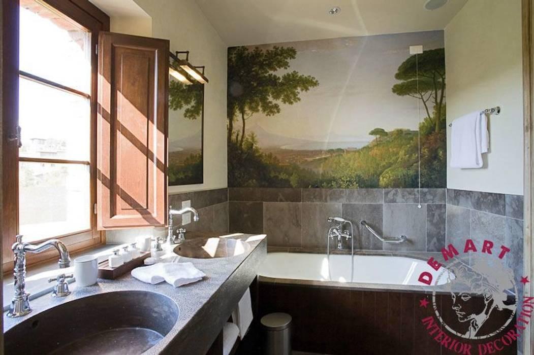 Decorazione Pareti Bagno : Decorazione parete bagno: bagno in stile di demart interior
