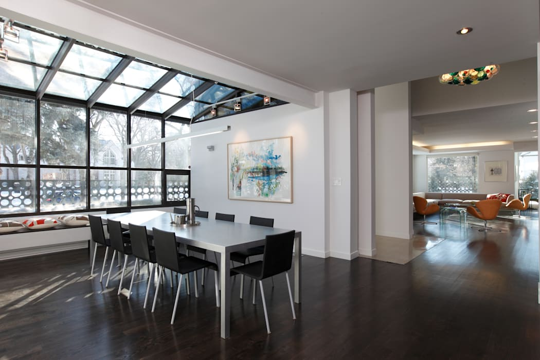 ZT Residence Interiors Modern conservatory by Unit 7 Architecture Modern