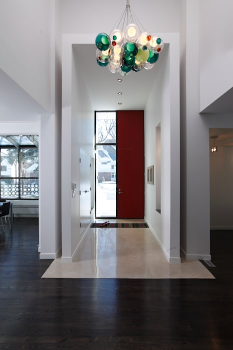 ZT Residence Interiors :  Walls by Unit 7 Architecture,Modern