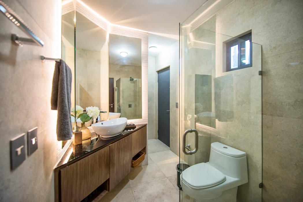 Bathroom by ESTUDIO TANGUMA, Modern Wood Wood effect