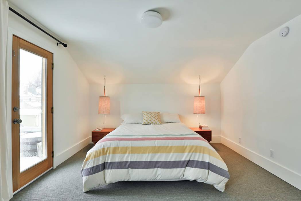 SV Modern Bedroom Modern style bedroom by Unit 7 Architecture Modern