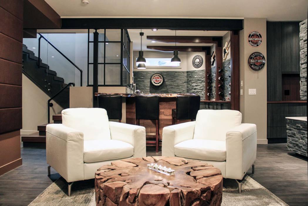 ห้องนั่งเล่น โดย Unit 7 Architecture, อินดัสเตรียล