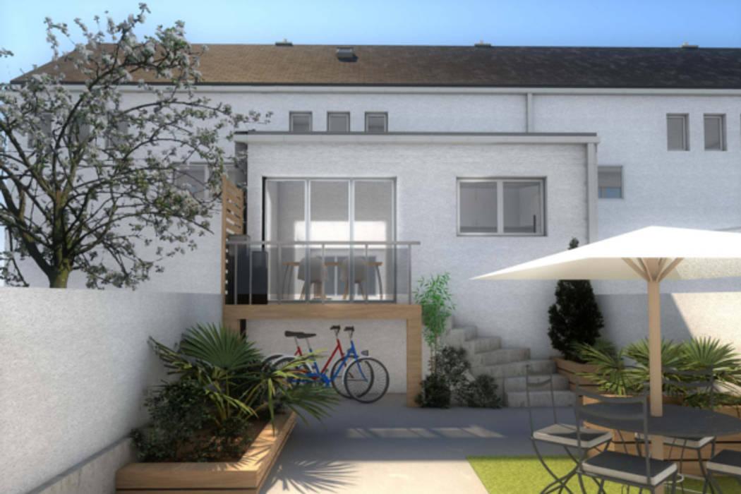 vue de l'extension: Jardin de style de style Moderne par Dem Design