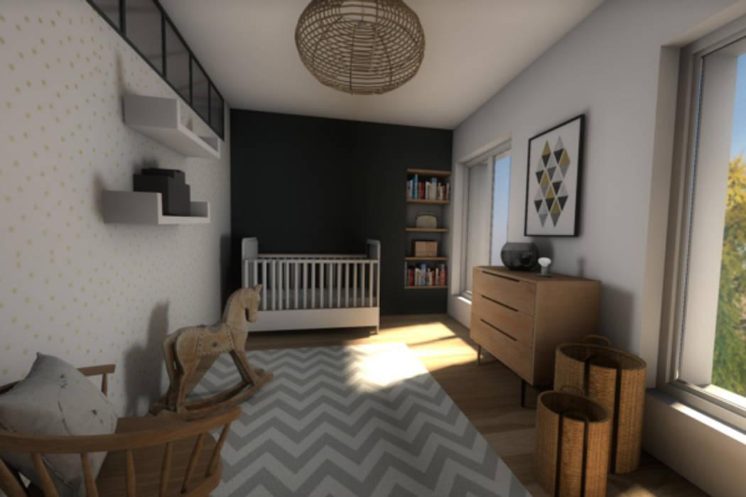 Vue de la chambre d'enfant: Chambre d'enfant de style de style Moderne par Dem Design
