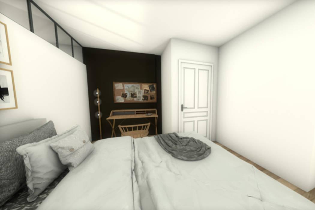 Vue de la suite parentale: Chambre de style de style Moderne par Dem Design