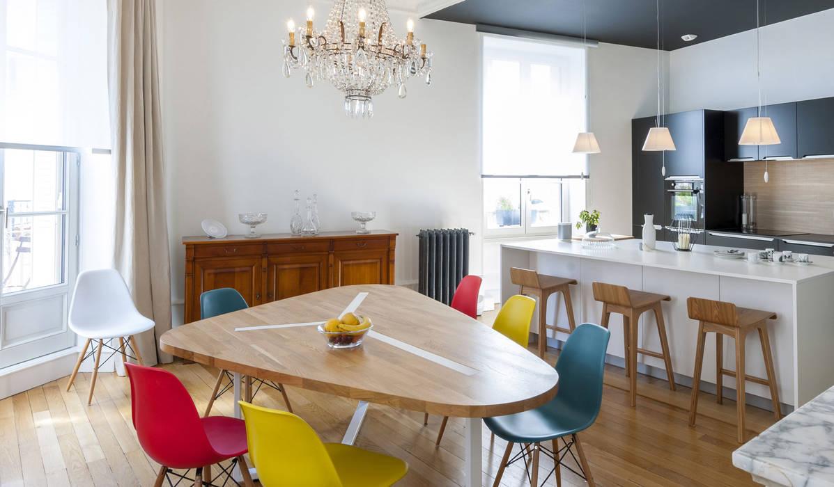 Sala da pranzo in stile  di Dominique Marcon