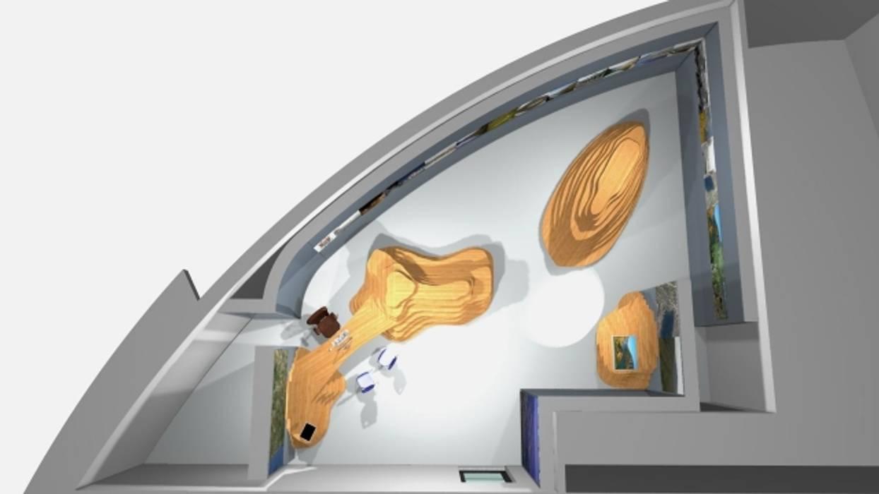 Vista geral CIT Sabrosa: Espaços comerciais  por arcquitecto