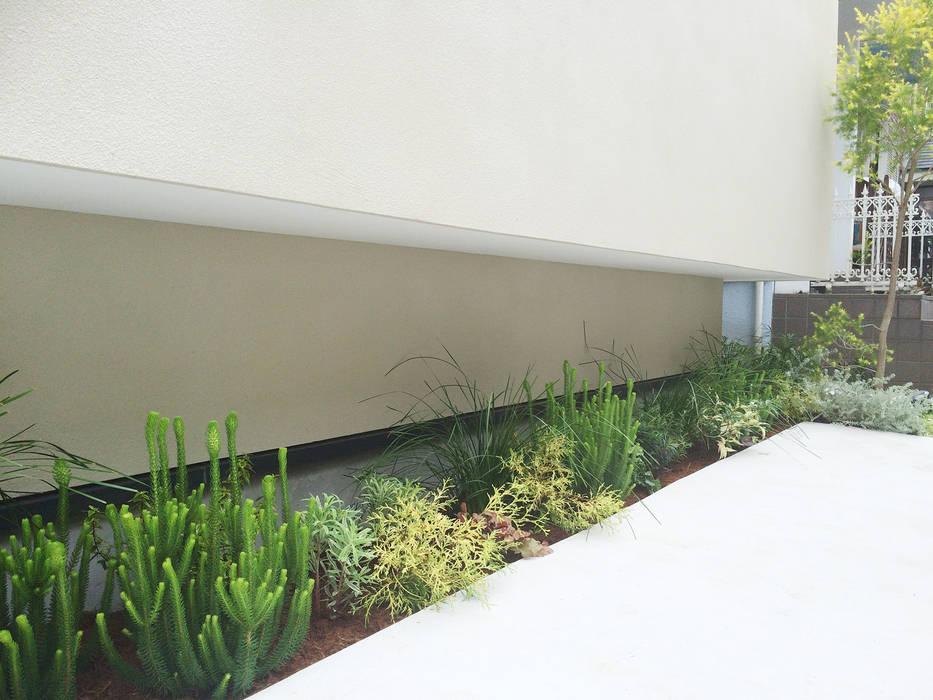 Jardines de estilo  por (有)ハートランド, Moderno