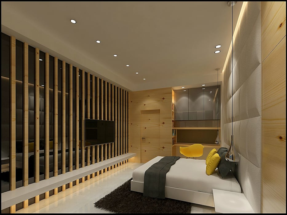Bedroom :  Bedroom by VT architects