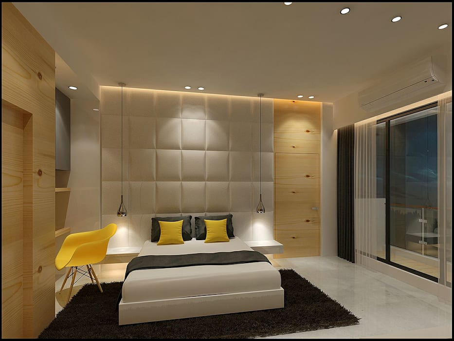 Bedroom by VT architects