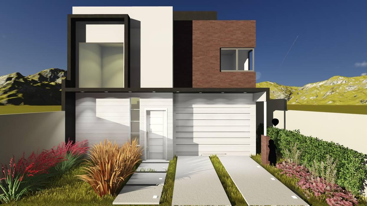6833a49ef70 Fachada – vista diurna  casas por estúdio 12b
