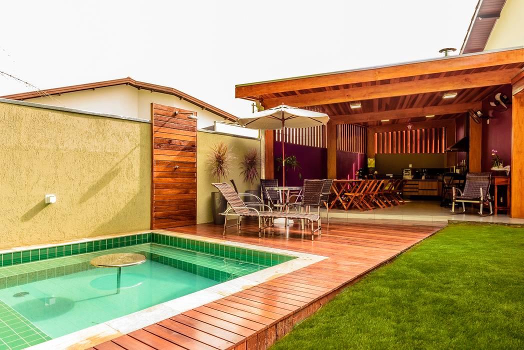 Bianca Ferreira Arquitetura e Interioresが手掛けたスパ・サウナ