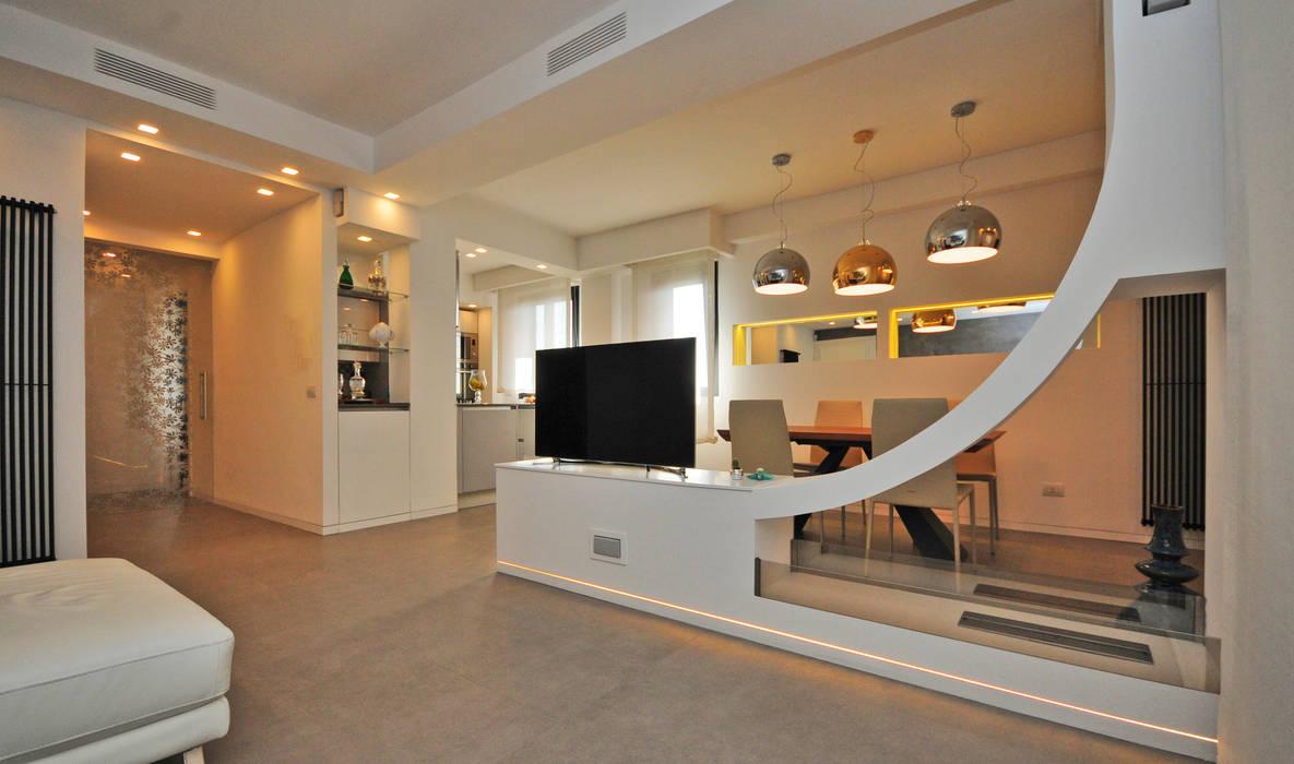 Ristrutturazione appartamento 100 mq by Fabiola Ferrarello architetto