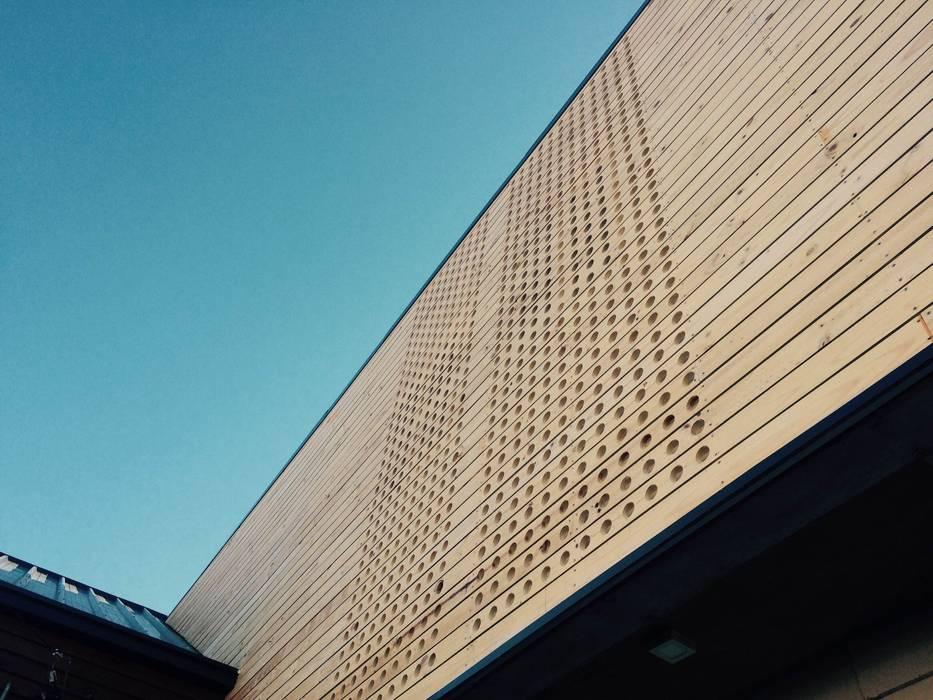 Bodega Rengifo: Oficinas y Comercios de estilo  por Naritelli-Bravo Arquitectos, Rural Madera Acabado en madera