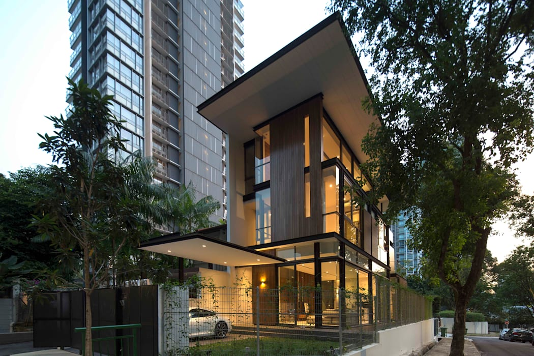 Modern Houses by AR43 Architects Pte Ltd Modern