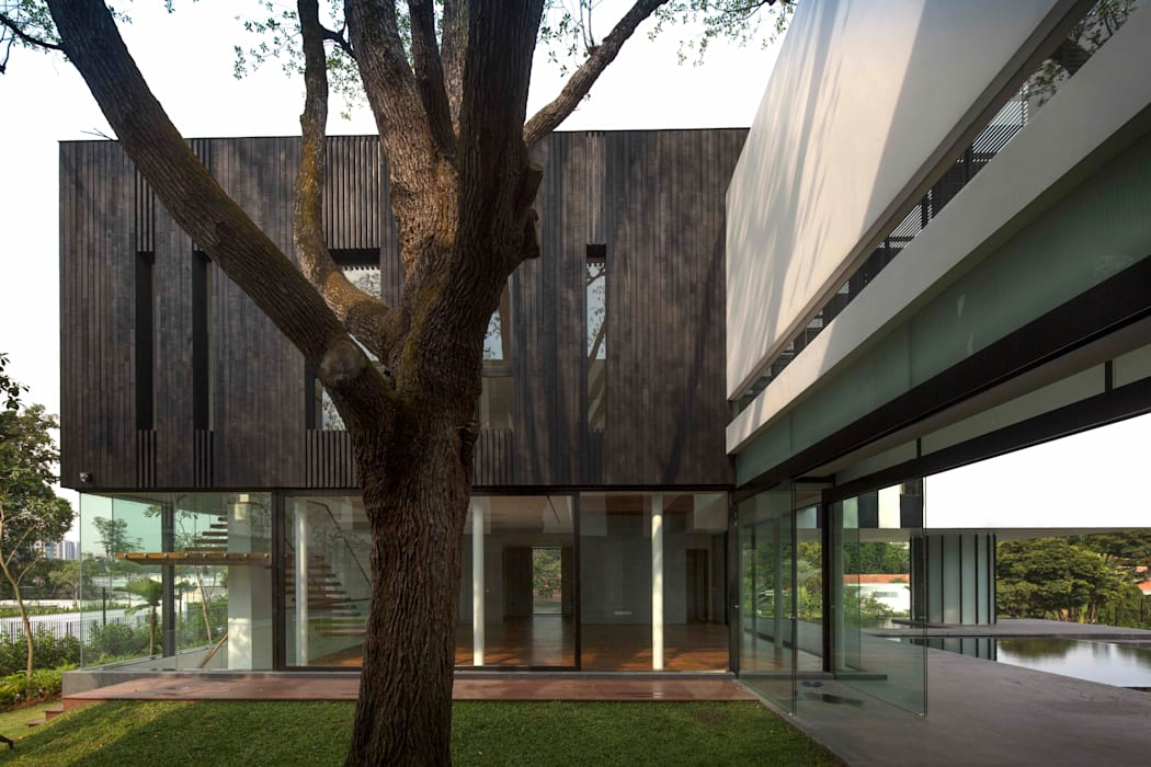 Taman Modern Oleh AR43 Architects Pte Ltd Modern